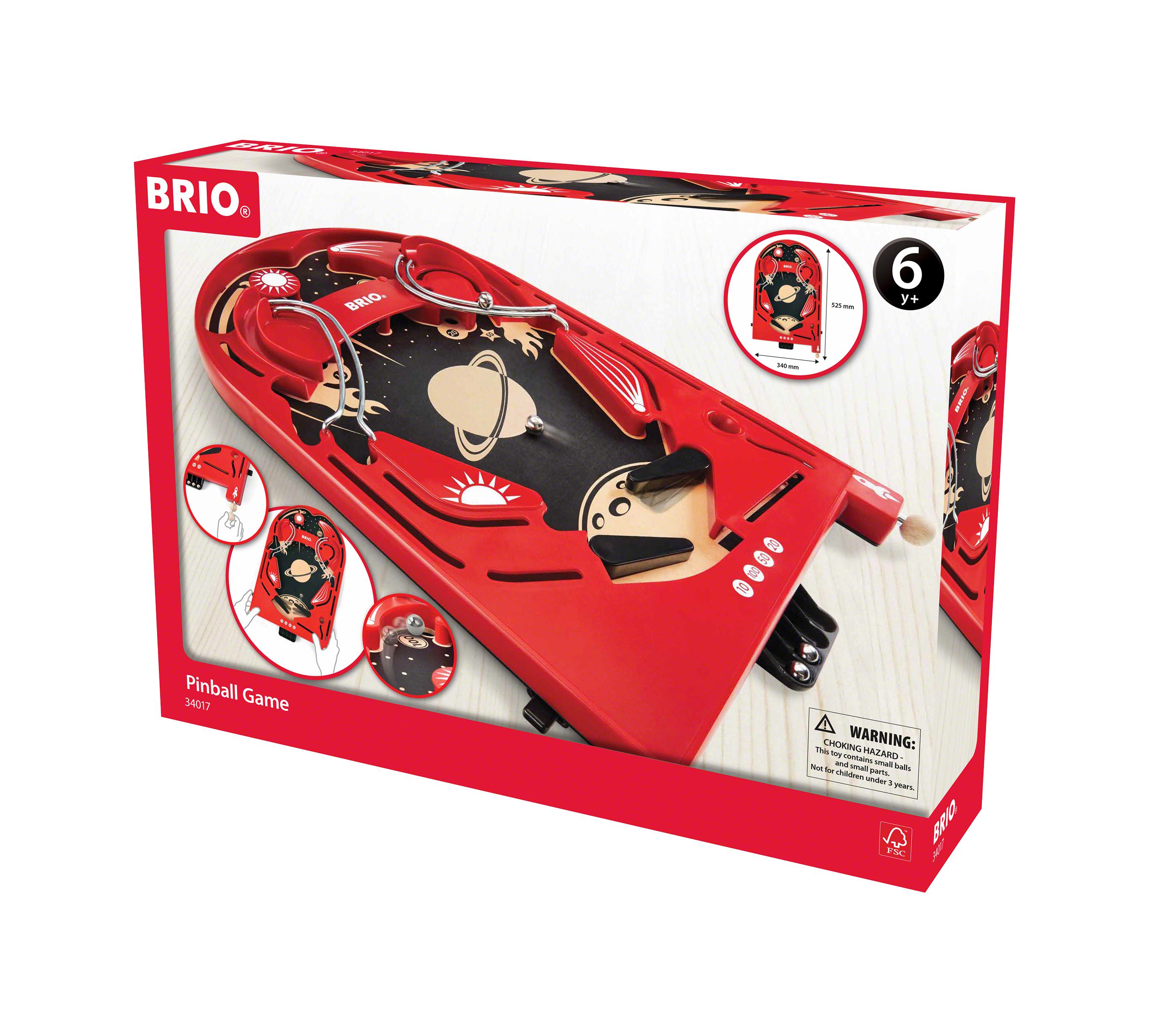 BRIO, Pinball-spel