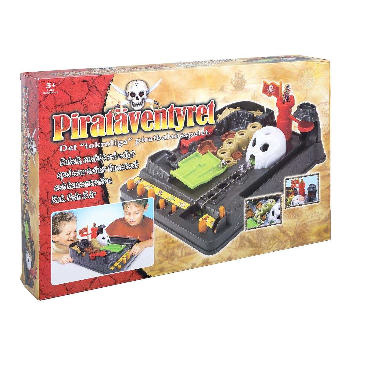 Piratäventyret, Piratbalansspelet