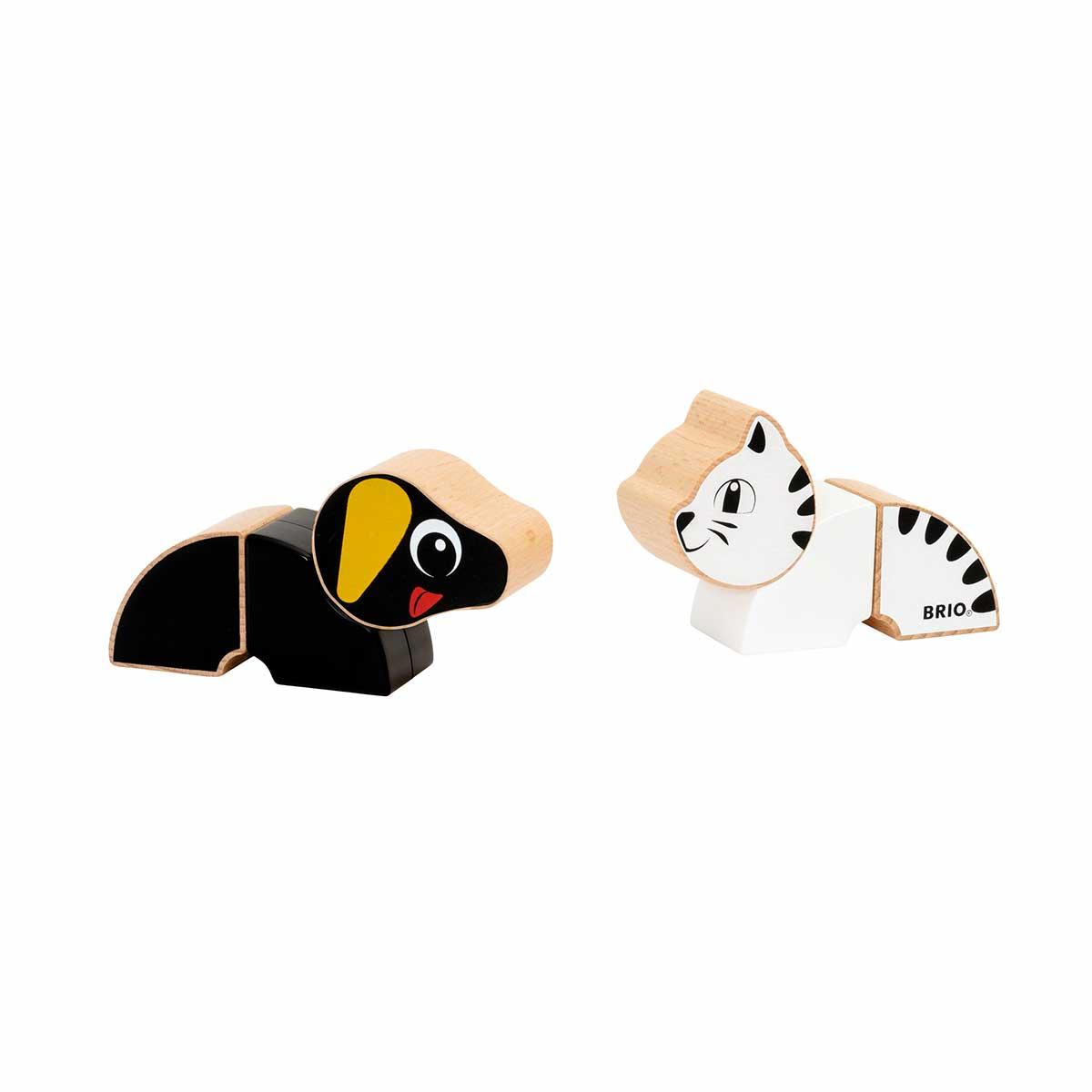 BRIO, Magnetic Cat and Dog