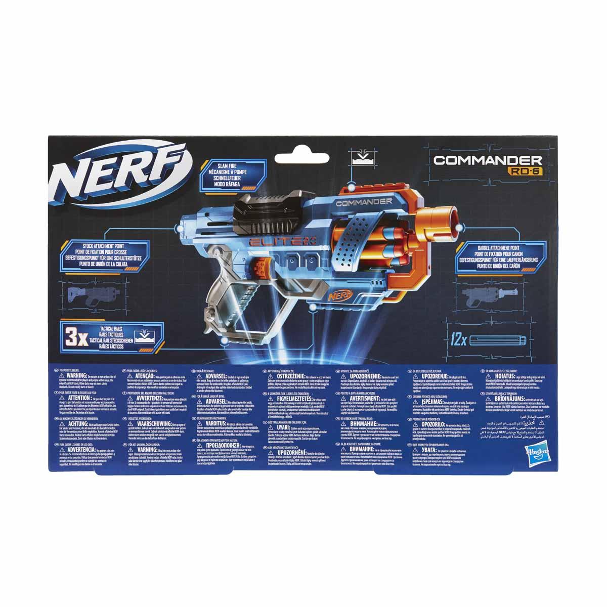 Nerf Elite 2.0, Commander RC 6