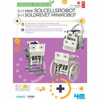 4M 3-I-1 Solcellsrobot