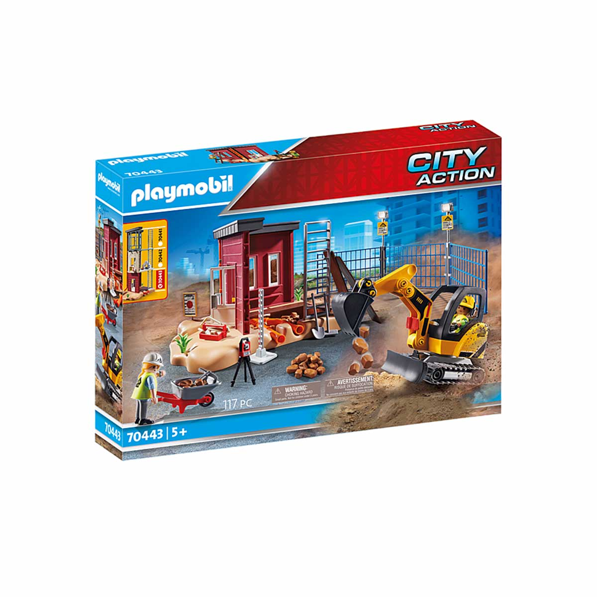 Playmobil 70443, Small Excavator