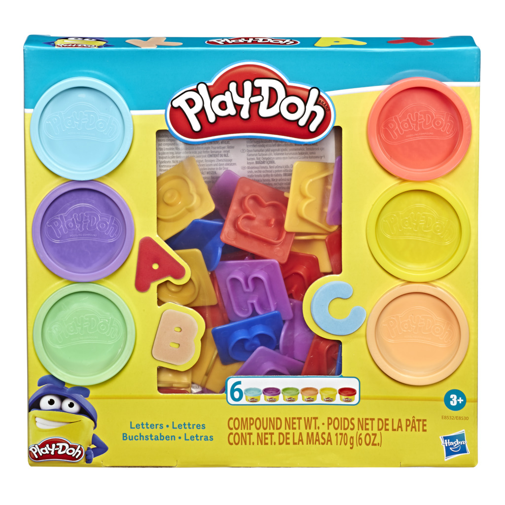 Play-Doh, Letters