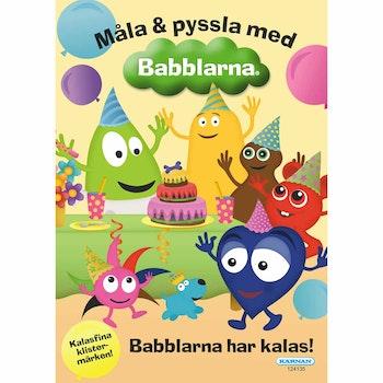 Målarbok Babblarna Med Klistermärken