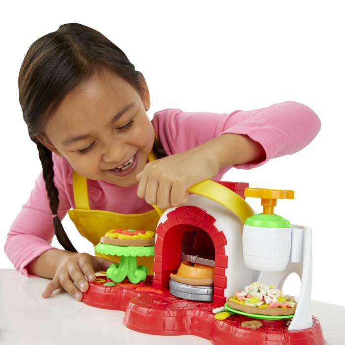 Play-Doh - Baka och toppa pizzor