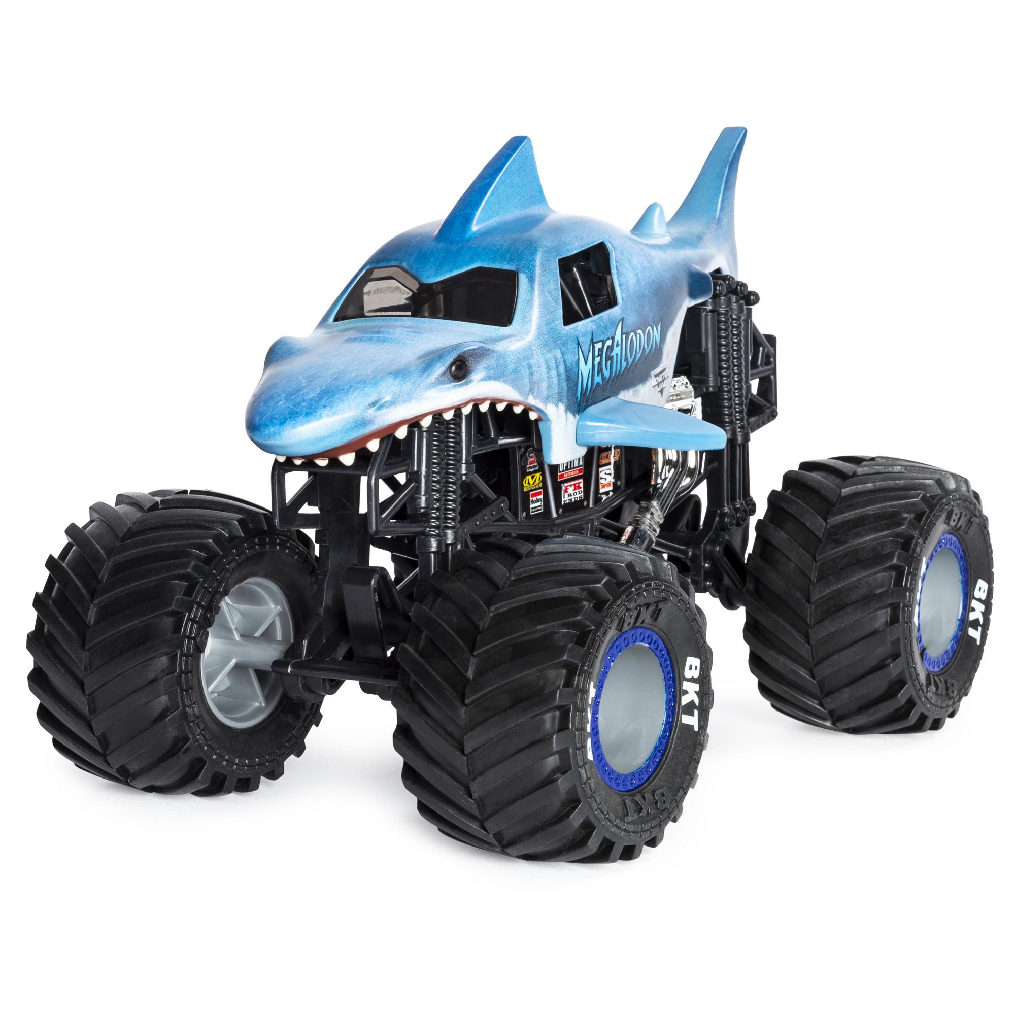 Monster Jam, 1:24 Collector Trucks - Megalodon
