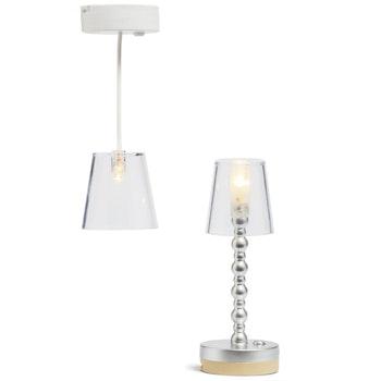 Lundby - Golv och taklampa batteri