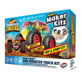 Hot Wheels, Maker kitz Monster Pullback