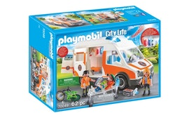Playmobil City Life - Ambulans med blinkande ljus