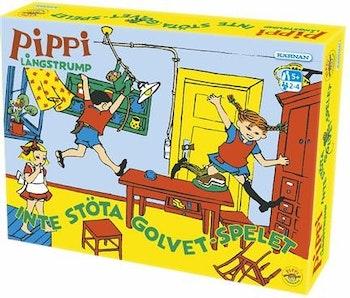 Pippi Inte-Stöta-Golvet-Spelet