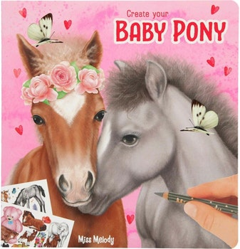 Miss Melody - Create your Baby Pony Målarbok