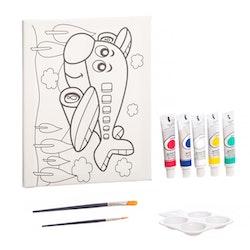 LAC, Canvas tavla med färger