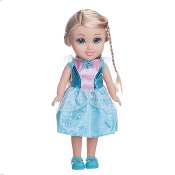 Sparkle Girlz Prinsessdocka 33 cm blå/rosa