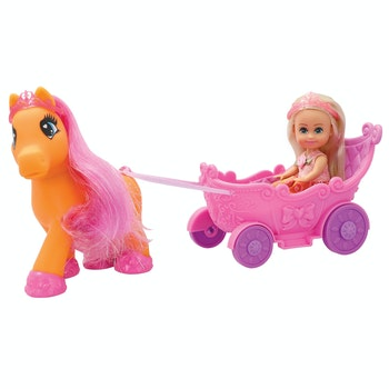 Sparkle Girlz med Pony & Vagn