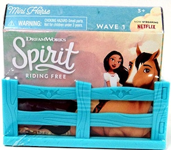 Spirit Mini Horse Figures blindbag