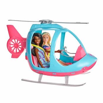 Barbie Äventyrsset med bil & helikopter