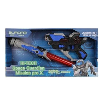 Hi-Tech Space weapon Gevär och Svärd ljus o ljud