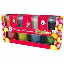 Glitterlera 8-Pack