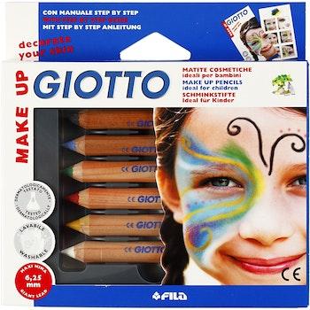 Ansiktsfärgpennor klassiska färger