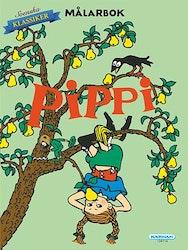 Pippi Långstrump Målarbok 24 sidor