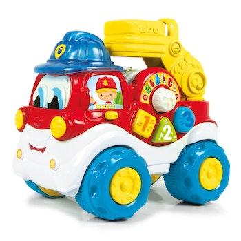 KID Brandbil med aktiviteter på Svenska