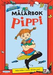 Pippi Långstrump målarbok 32 sidor