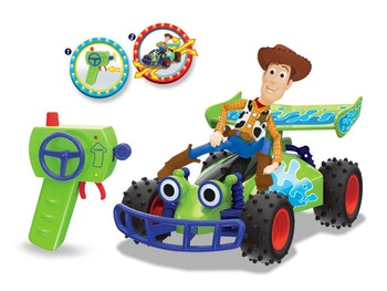 Toy Story 4 - R/C Buggy med Woody