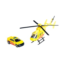 Teamsterz Utrycknings helikopter o fordon