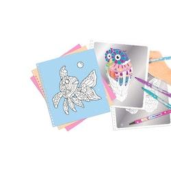 TOPModel Fantasy Silver Art Designbok