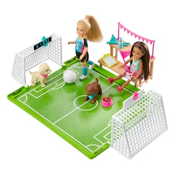 Barbie Chelsea Soccer Playset