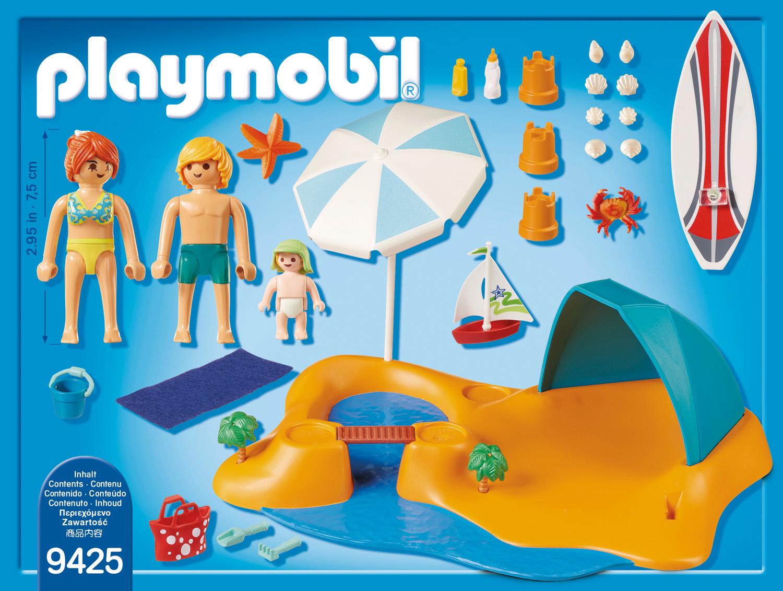 Playmobil Family Fun - Familj på stranden