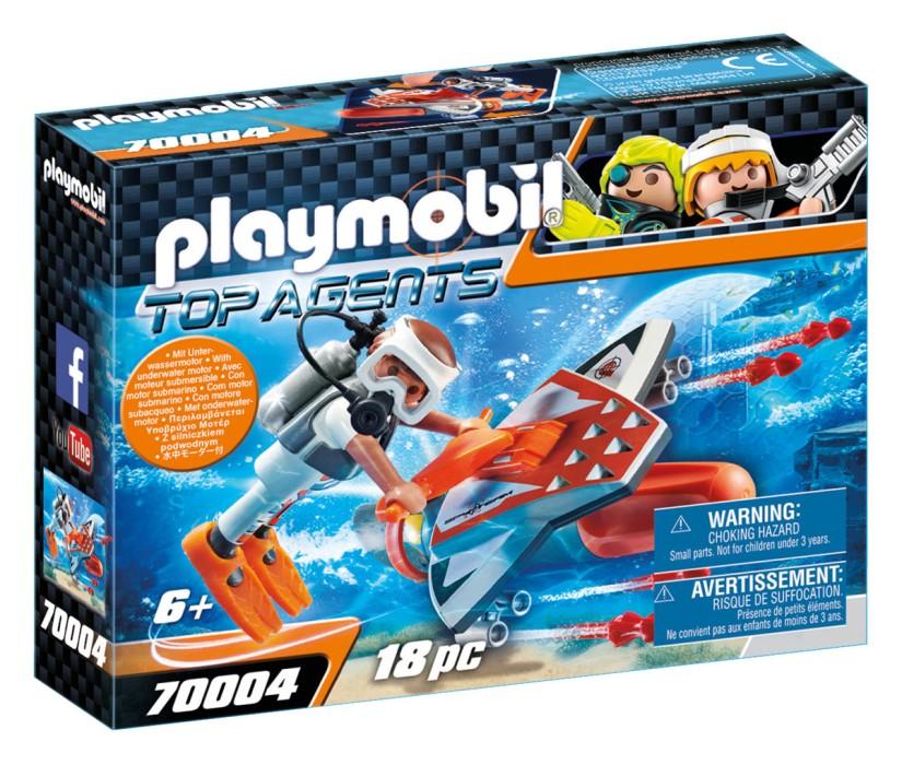 Playmobil Top Agents - SPY TEAM Undervattensskjutare