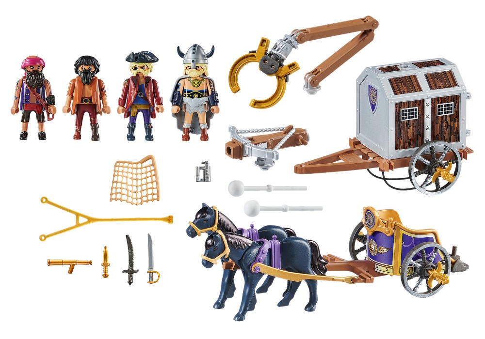 Playmobil the Movie - Charlie med fångtransport