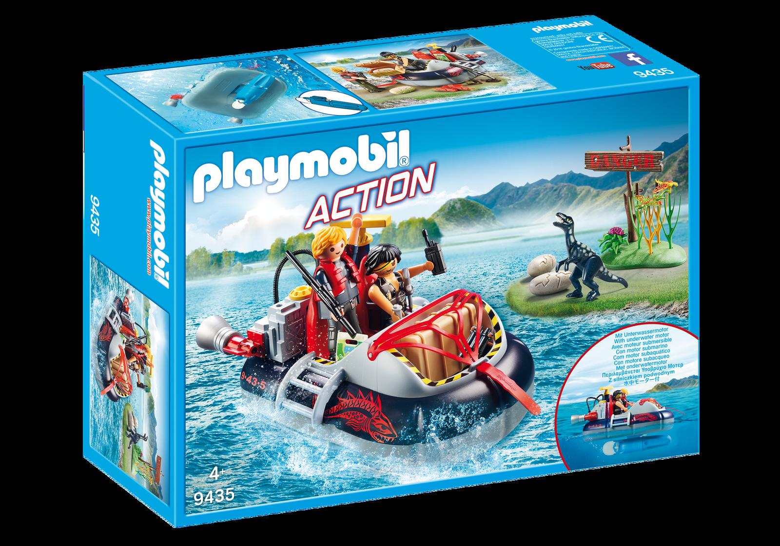 Playmobil Sports & action - Svävare med undervattensmotor