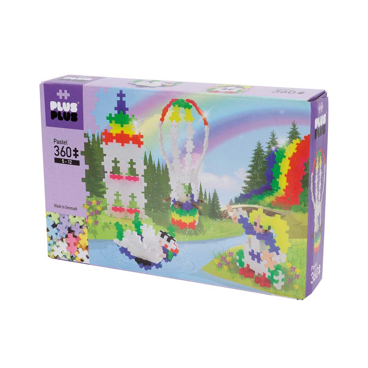 Plus-Plus Pastel Rainbow Hot Air Balloon 360 delar