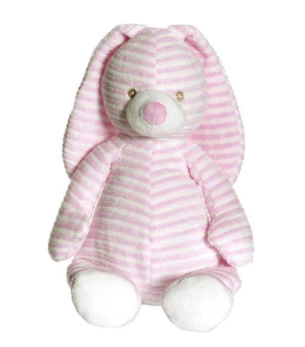 Teddykompaniet Cotton Cuties - Kanin Mjukis Rosa 27 cm