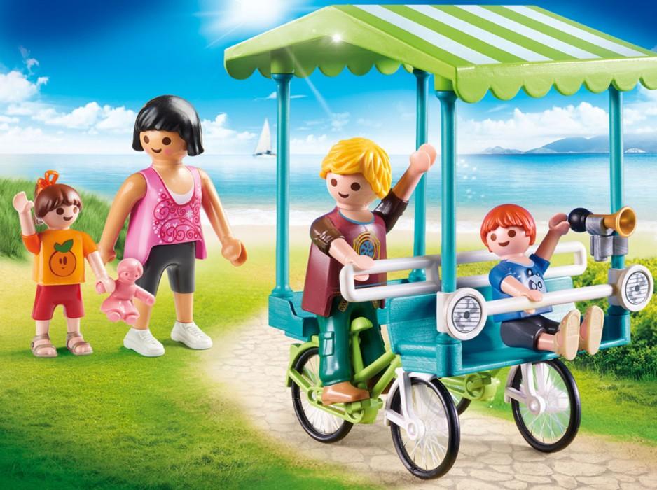 Playmobil Family Fun  - Familjecykel