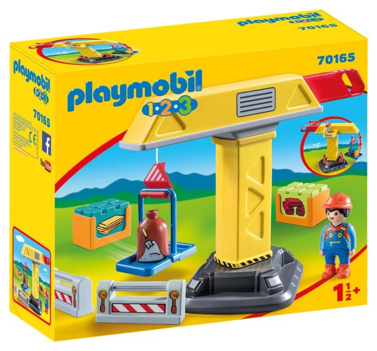 Playmobil 1.2.3 - Lyftkran