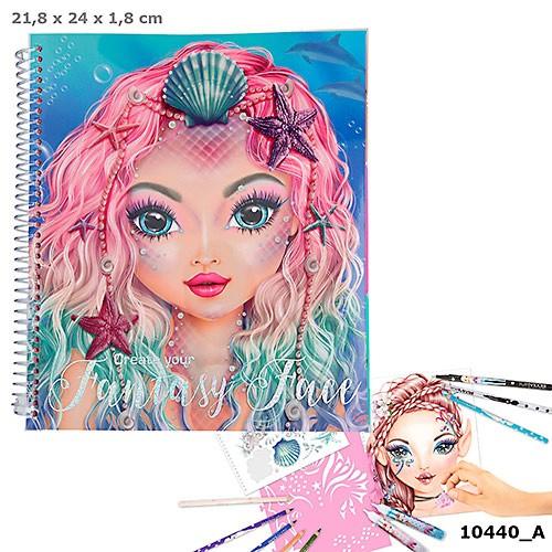 TOPModel Fantasy Face Designbok