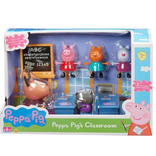 Greta Gris Classroom Playset