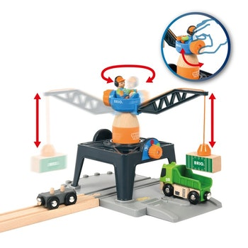 BRIO - Smart Tech 33962 Containerkran