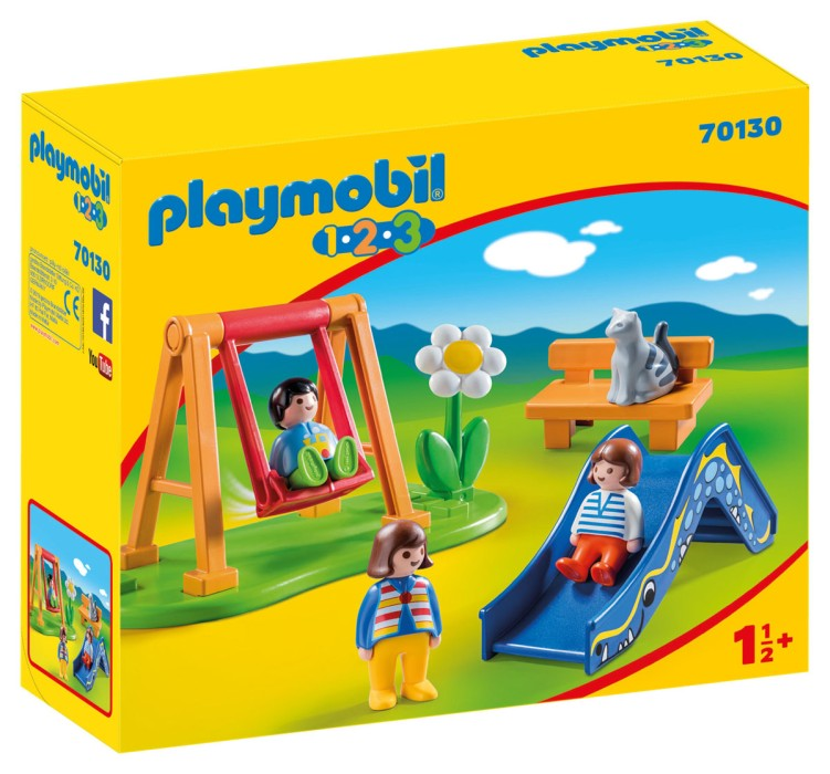 Playmobil 1.2.3 - Barnens lekplats