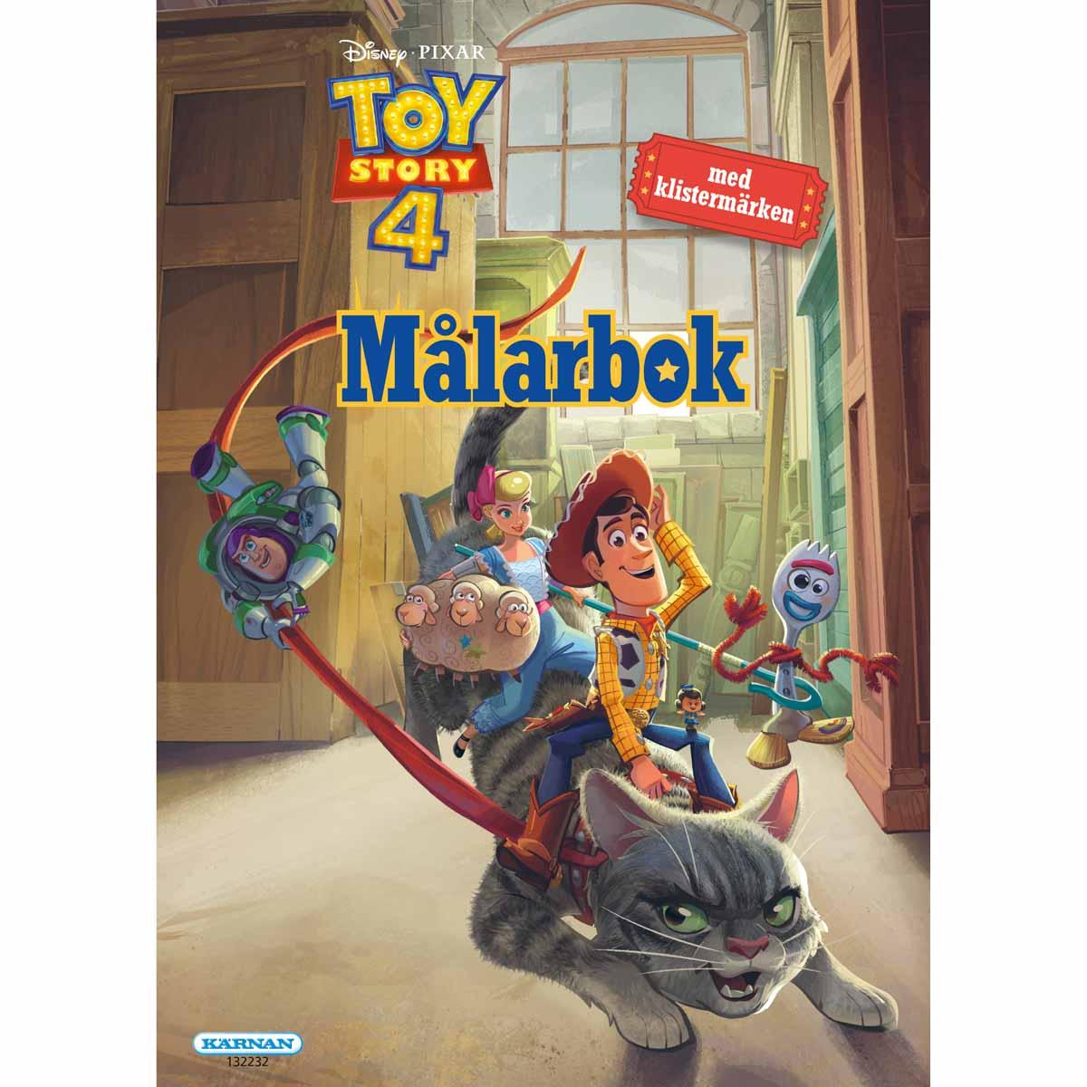 Målarbok Toy Story 4 Med Klistermärken