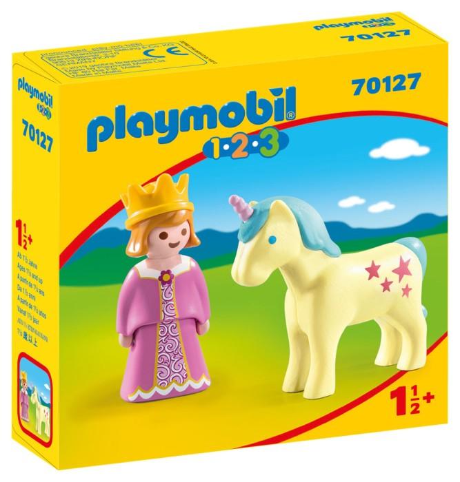 Playmobil 1.2.3 - Prinsessa med enhörning