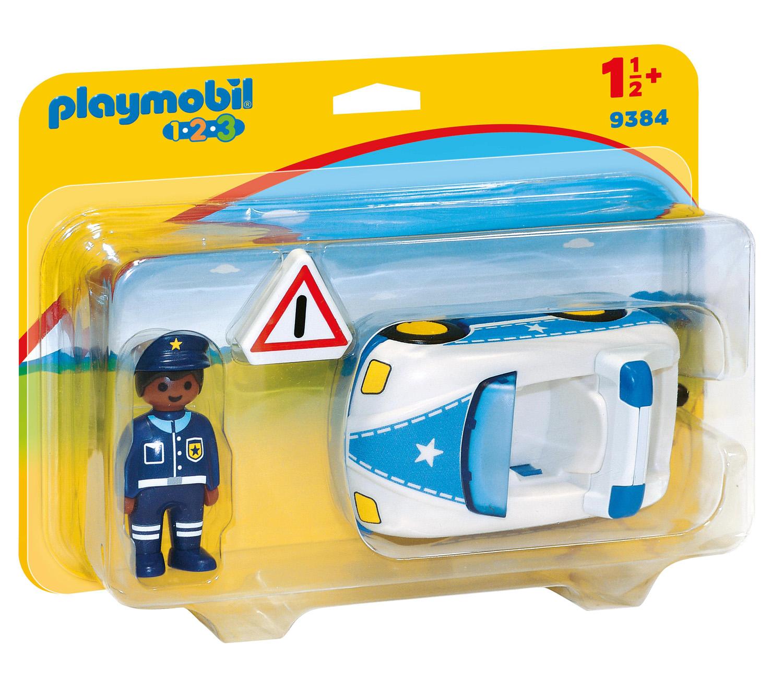 Playmobil 1.2.3 - Polisbil