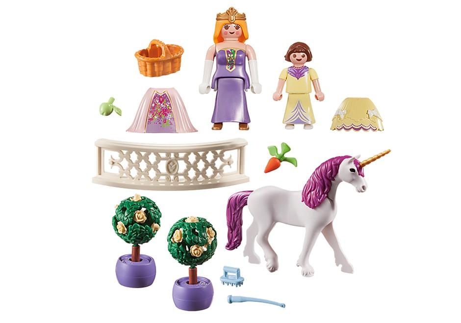 Playmobil Princess - Prinsessa med enhörning i bärväska