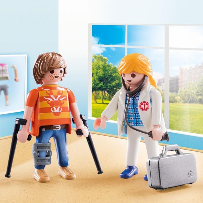 Playmobil City Life - Läkare och patient
