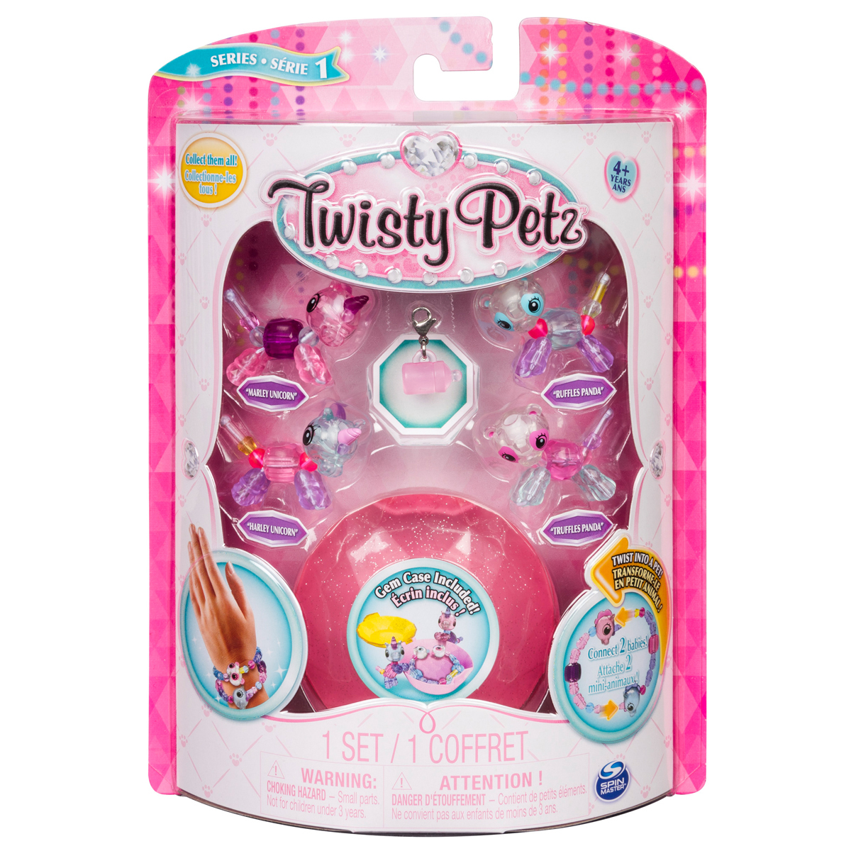 Twisty Petz Babies 4-pack