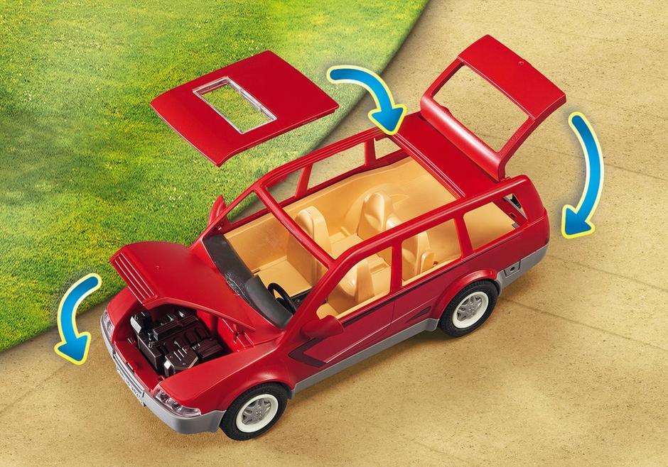 Playmobil Family Fun - Familjebil