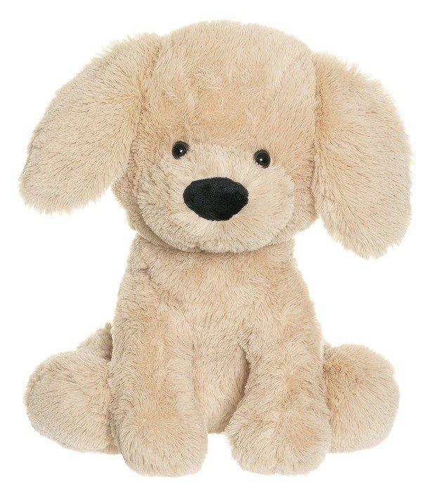 Teddykompaniet - Sittande hund - beige
